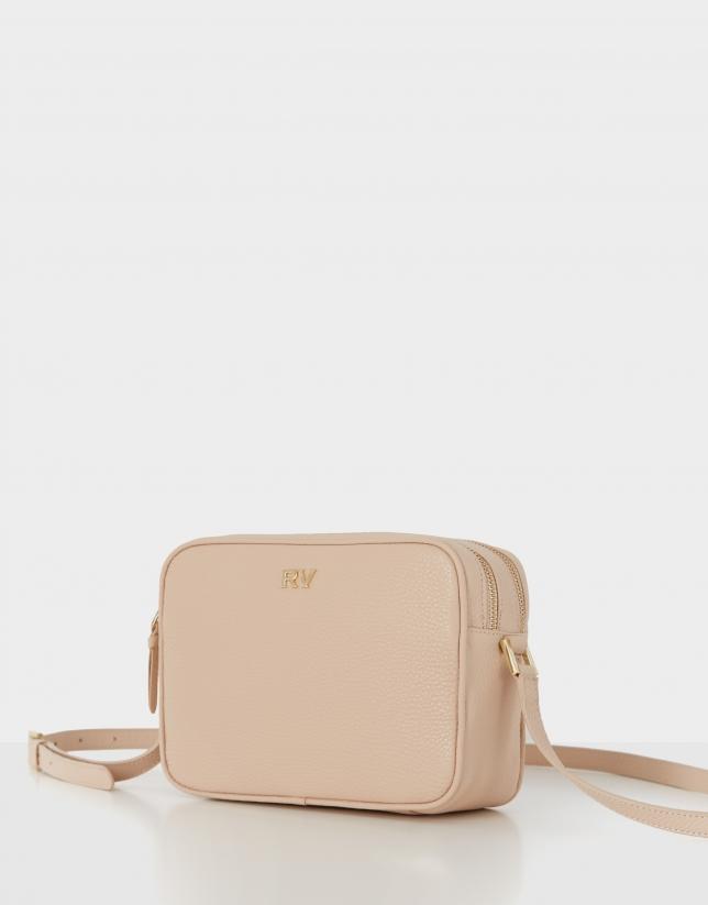Ivory leather Taylor shoulder bag