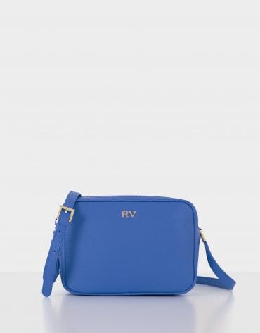 Blue leather Taylor shoulder bag