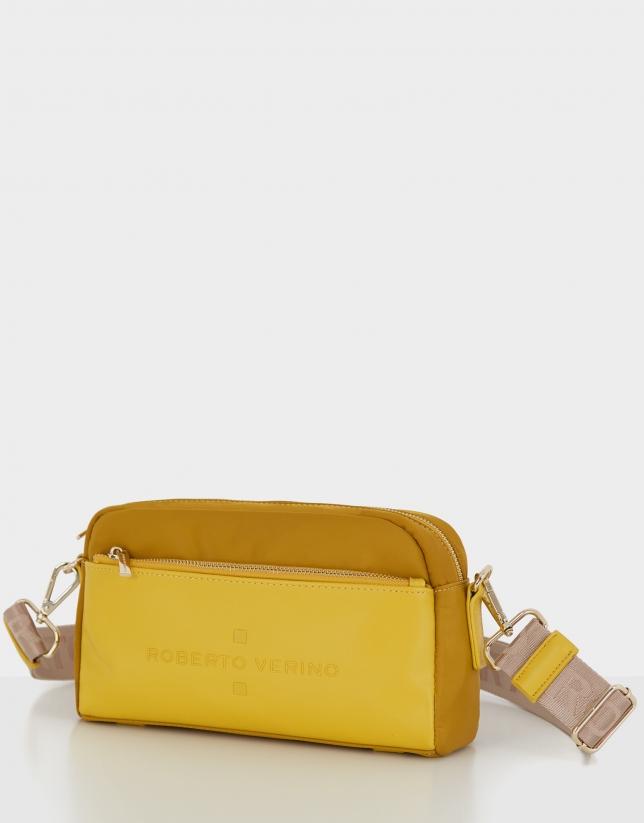 Mustard naylon shoulder Roxy Midi