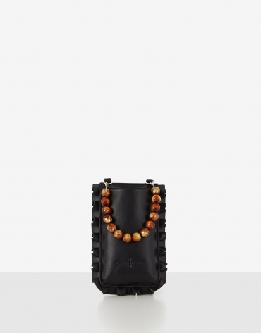 Bolso portamóvil Olas Mini negro