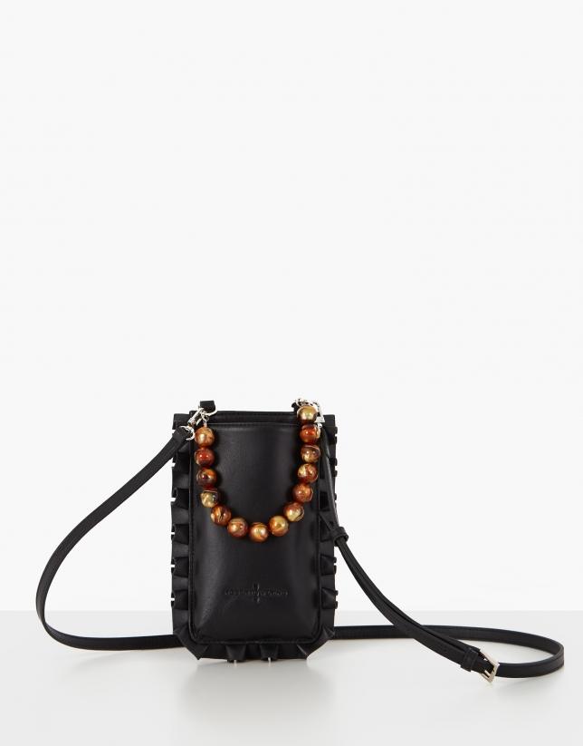 Black Mini Olas cellphone bag