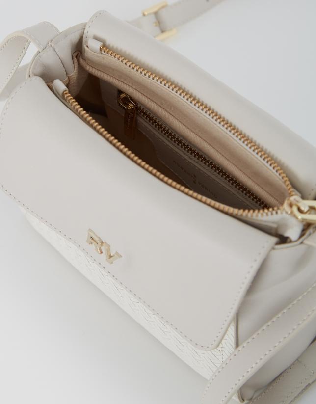White leather mini Celia shoulder bag
