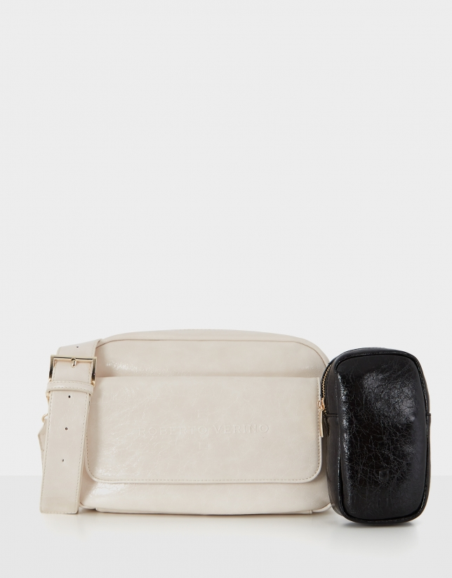 White Big Bazin shoulder bag