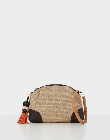 Cream Kuba Pouch shoulder bag