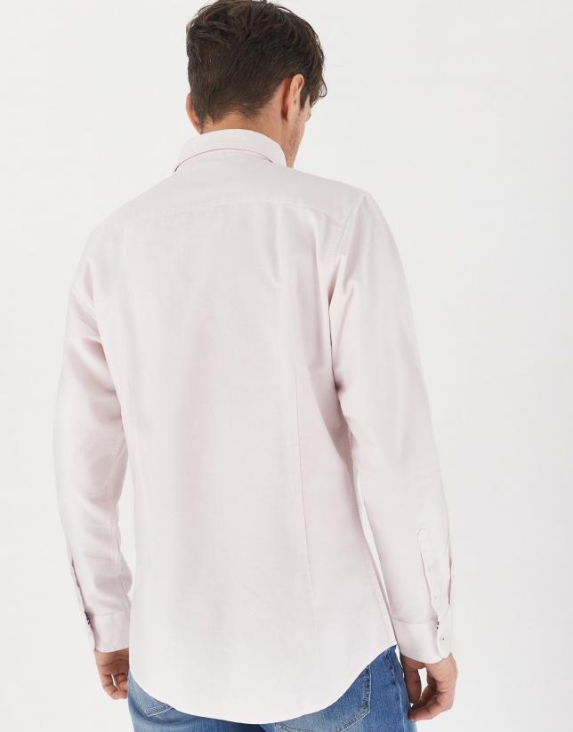 Pink Oxford sport shirt