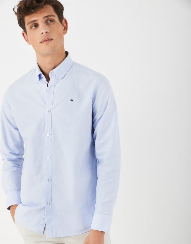 Light blue Oxford sport shirt