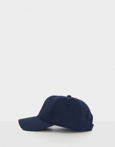 Navy blue baseball cap with embroidered RV