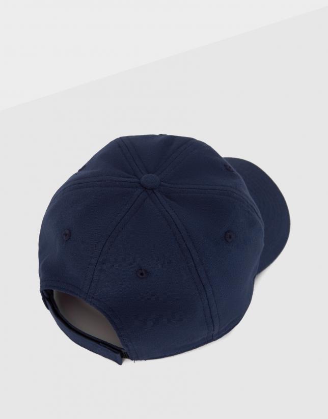 Gorra con logo RV bordado azul