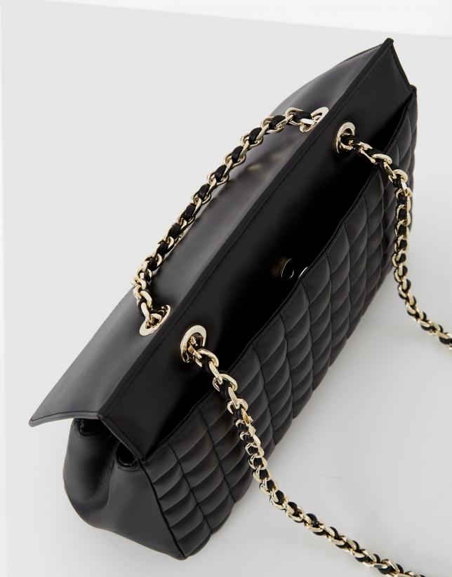Black Maxi Ghauri Maxi shoulder bag